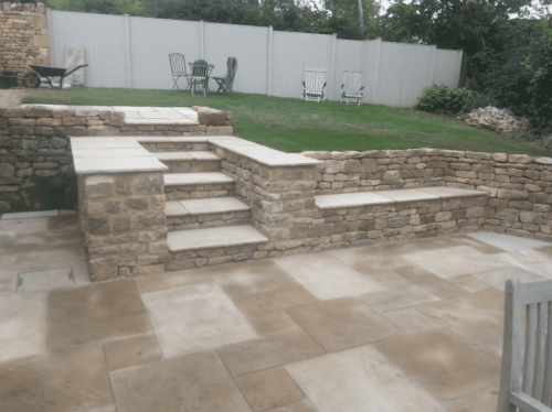 After wall retaining