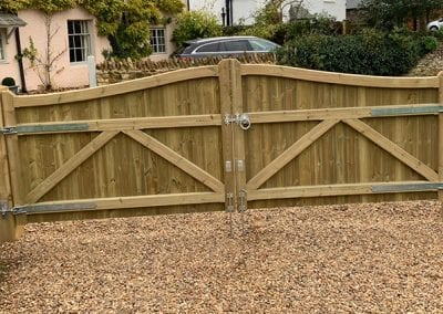 Some new gates for driveway access and security.